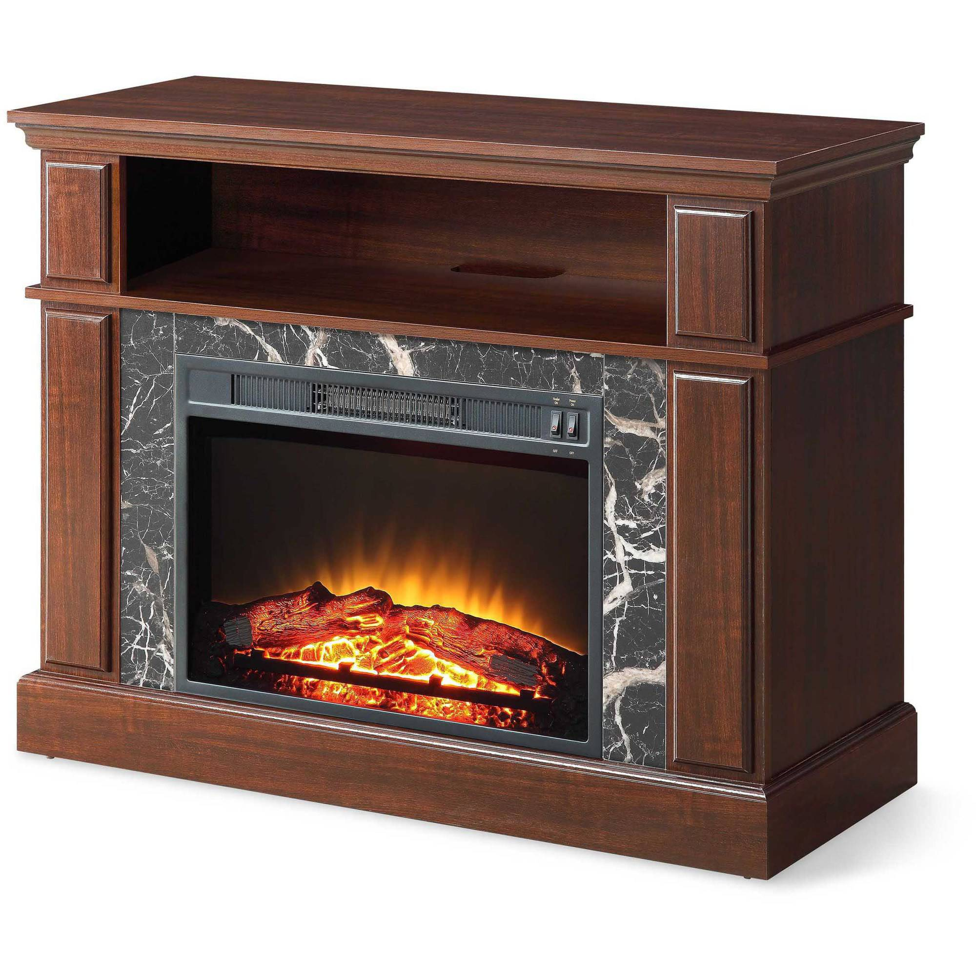 "Free Shipping. Buy Whalen 41"" Cherry Media Fireplace for TVs up to 50"" at Walmart.com"