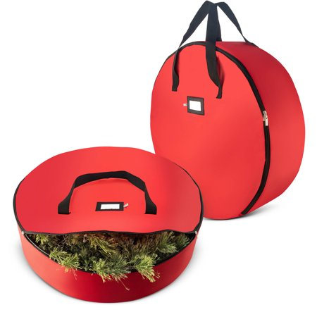 2 Pack Christmas Wreath Storage Bag For 30