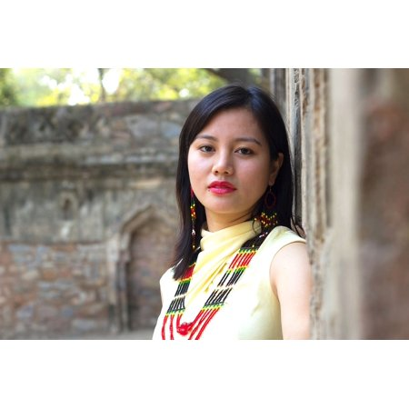 LAMINATED POSTER Tribal Necklace Traditional Attire Tribal Attire Poster Print 24 x (Traditional Attire)