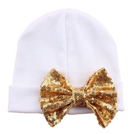 146dcc85e Aniwon - Baby Hat, Aniwon Knot Bowknot Sequins Winter Warm Soft Wool ...