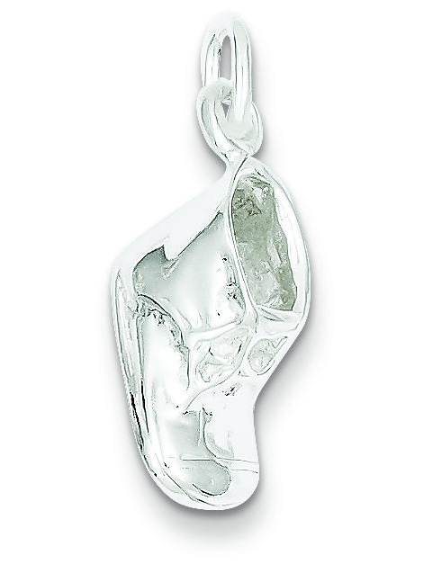 Sterling Silver Baby Shoe Charm Pendant Family Jewelry!