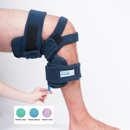 Comfy Knee Orthosis - Pull Ring Knee Othosis, Peds Medium, Thigh Circ: 6