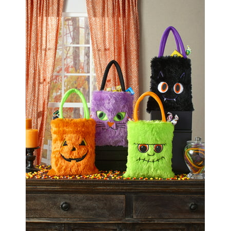 Elsa Halloween Treat Bag (Set of 4 Furry Halloween Bags)