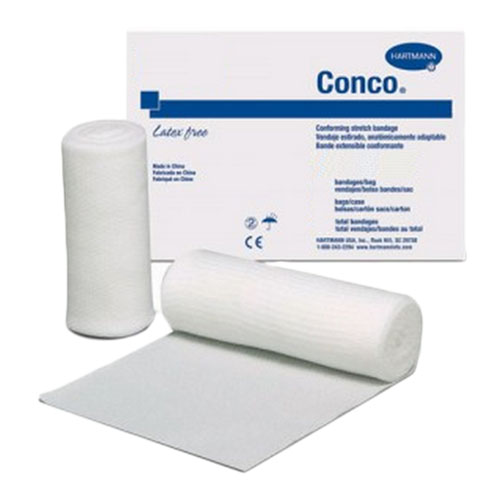 """Conforming stretch bandage, 4 yds. x 3"""", sterile part no. 81300000 (12/package)"""