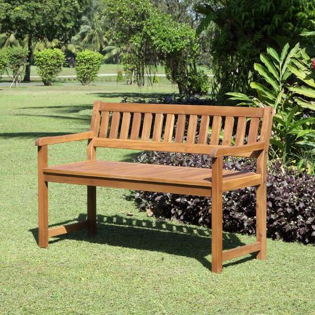 Linon Catalan Teak 45 in. Garden -