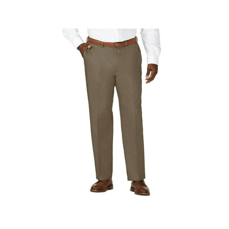 Haggar Men's Big & Tall Work to Weekend® Khaki Pant Classic Fit