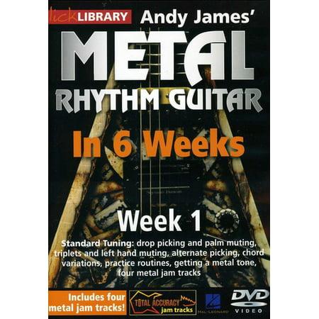 Methal Rhythm Guitar in 6 Weeks 1 (DVD)