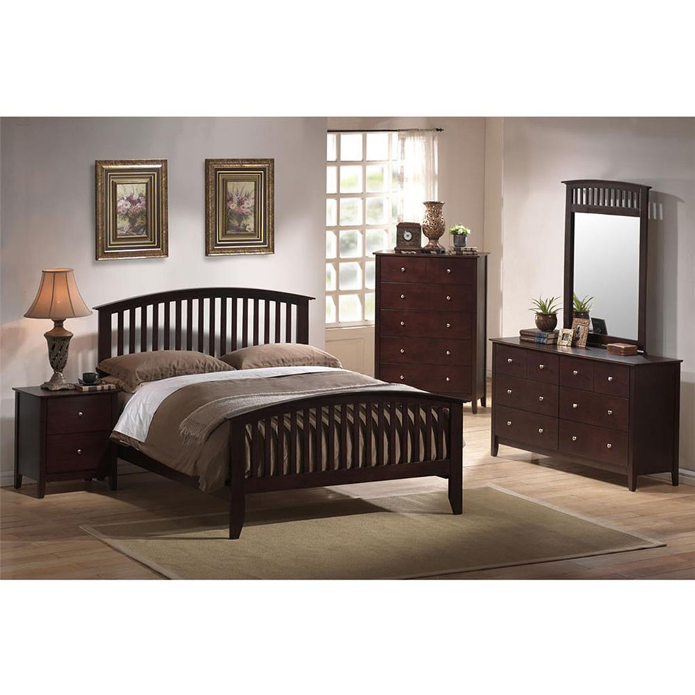 Cambridge Piedmont Six Drawer Dresser in Cherry