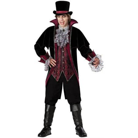 Vampire of Versailles Adult Halloween Costume