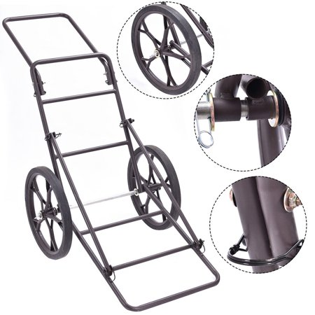 - Costway New Deer Cart Game Hauler Utility Gear Dolly Cart Hunting Accessories - 500 LB