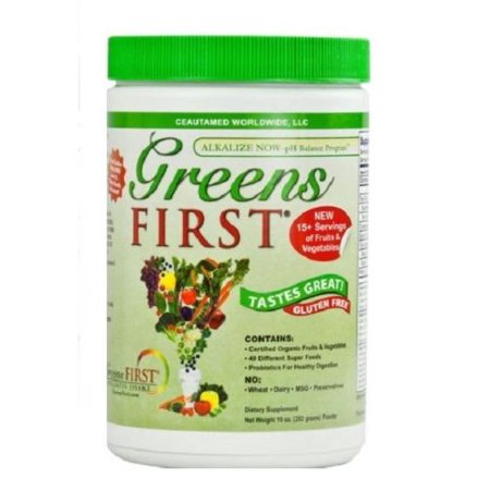 First Endurance Nutrition - Greens First Powder Doctors For Nutrition Ceautamed - 10 Ounce