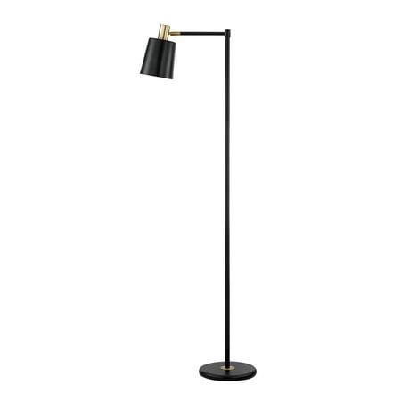 "Globe Electric Lex 60"" Black Finish Floor Lamp, 12916"