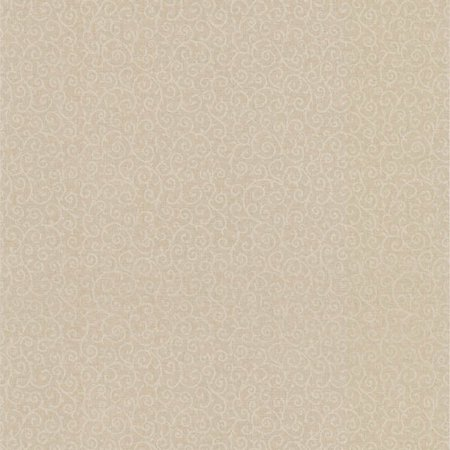 Kenneth James Tribe Scroll Brass Scroll Texture Wallpaper
