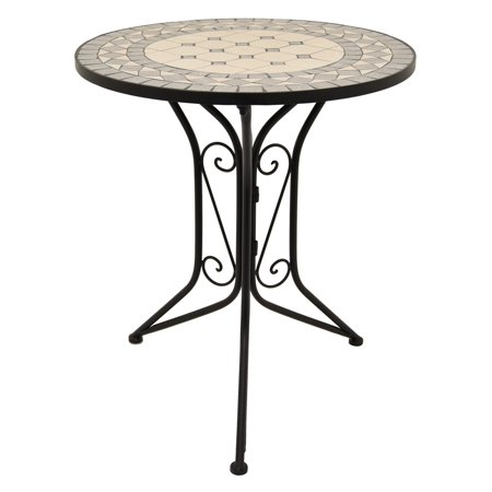Three Hands Mosaic Top Bistro Table ()