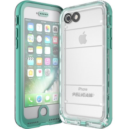 Pelican Products Marine IP68 Case iPhone 7 Teal/Clear ()