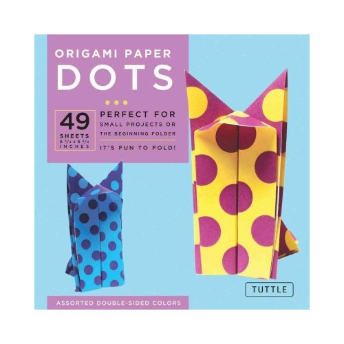 "Origami Paper Dots 6 3/4"" 49 Sheets"