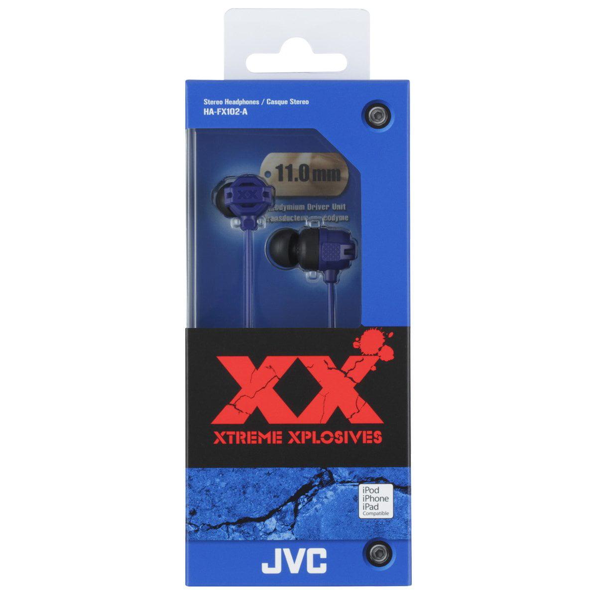 JVC America XX Xtreme Bass Inner Ear Headphones