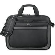 USLCLA1034, US Luggage SOLO Sterling 15.6 Laptop Slim Brief, 1, Black