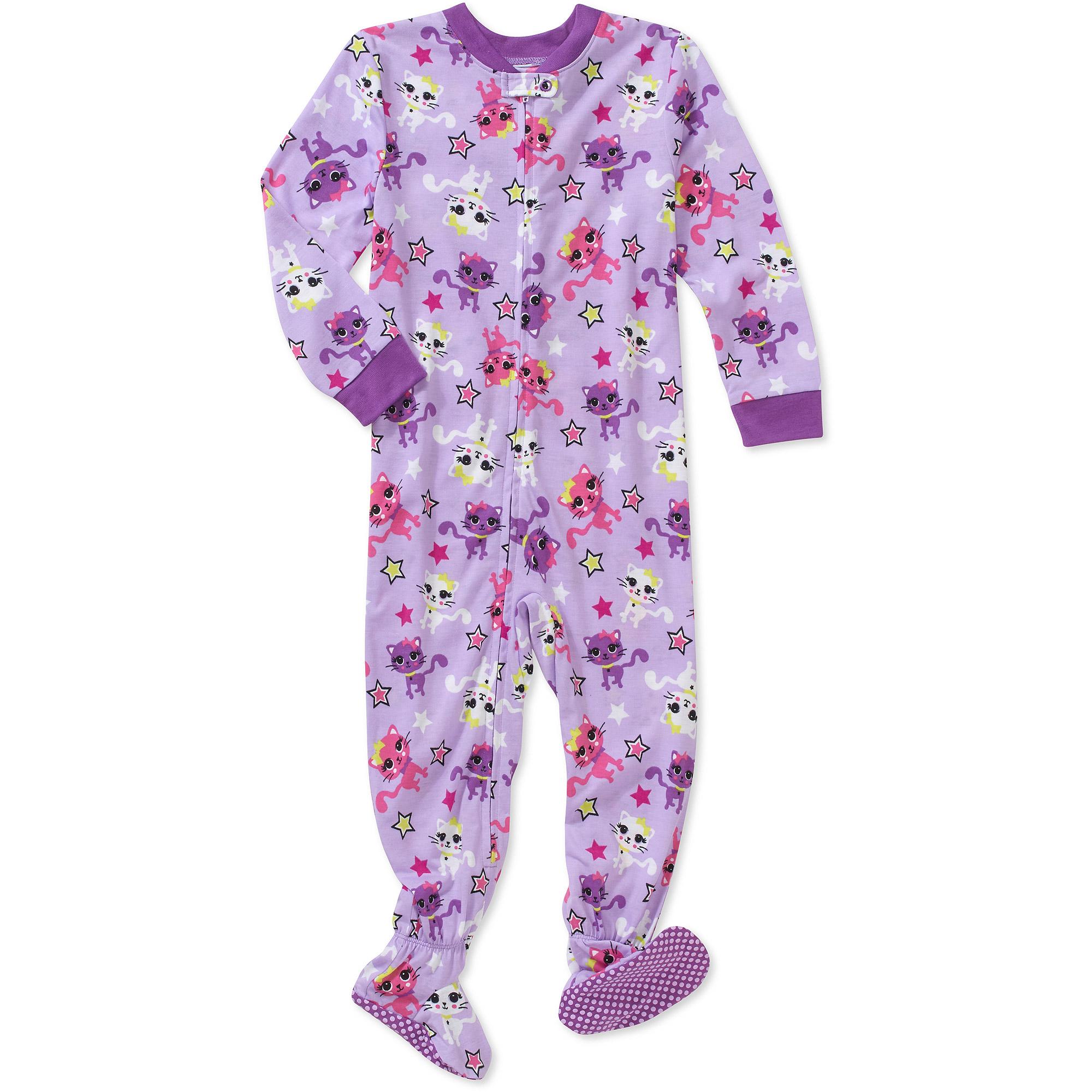 Healthtex Toddler Girl Jersey Footed Blanket Sleeper