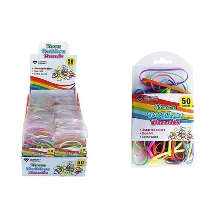 Diamond Visions 11-1687 Neon Rubber Bands MultiPack (200 Rubber Bands)