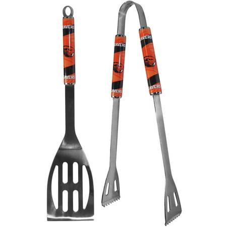 Oregon State Beavers 2 pc Steel BBQ Tool Set