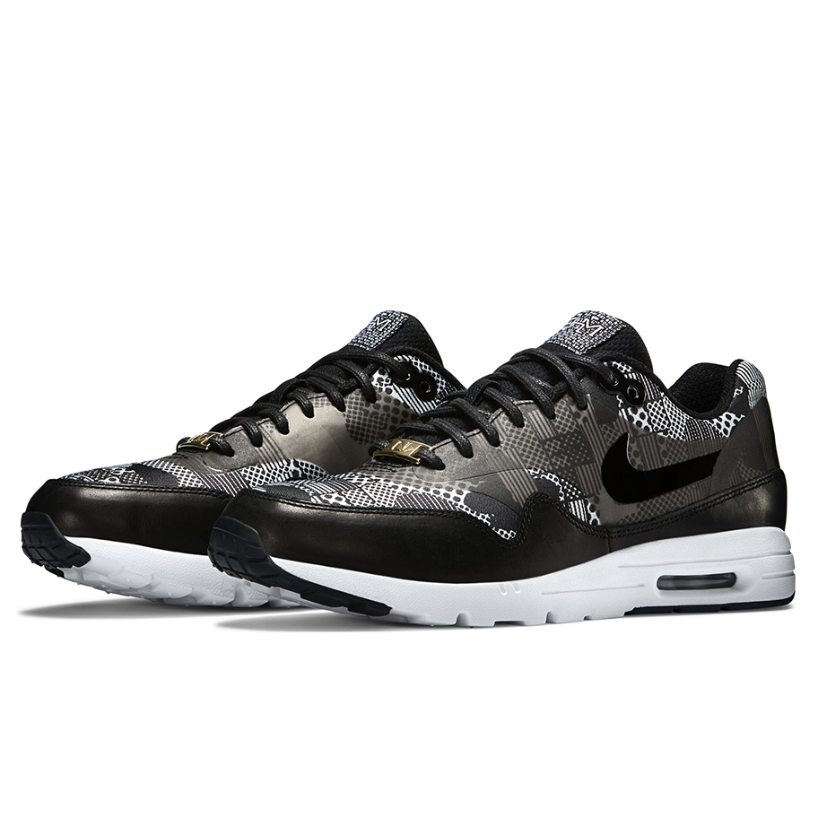 WoMen's Nike W Air Max 1 Ultra BHM Running Shoes, Black/B...