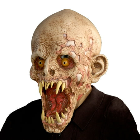 Zagone Studios Schell Shocked Monster Latex Halloween Adult Costume Mask (one size) - Zagone Studios Halloween Masks