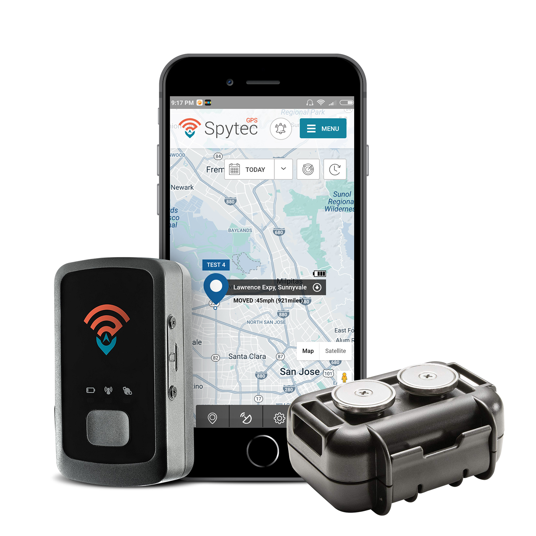 Spy Tec STI GL300 Mini Portable Real Time GPS Tracker With GL-HM Magnetic Case Bundle