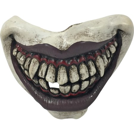 Evil Clown Mouthpiece With Elastic Twisted Horror Story 75613 - Twisted Metal Clown