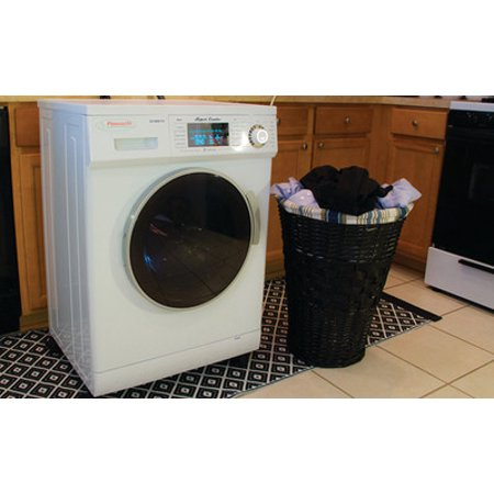 Equator 1.6 Cu. Ft. 7-Cycle Washer and 7-Cycle Dryer Combo White EZ 4000 CV WHITE
