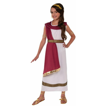 Halloween Child Greek Goddess Costume (Greek Costume For Kids)