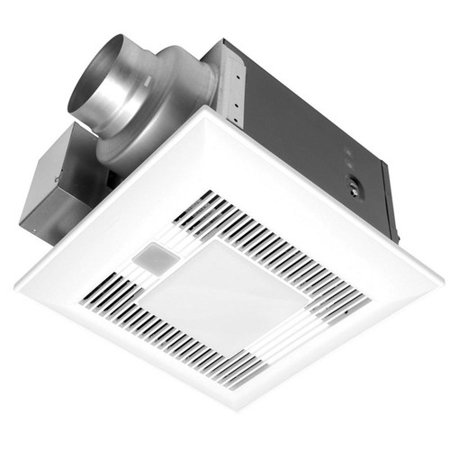 Panasonic Fv 08vql6 Whisperlite 0 3 Sone 80 Cfm Bathroom Fan With Light
