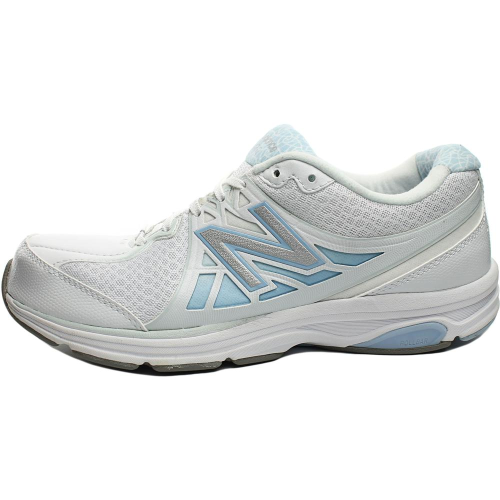 New Balance Womens 847v2 Mesh Lightweight Walking Shoes White 5 Medium (B,M)