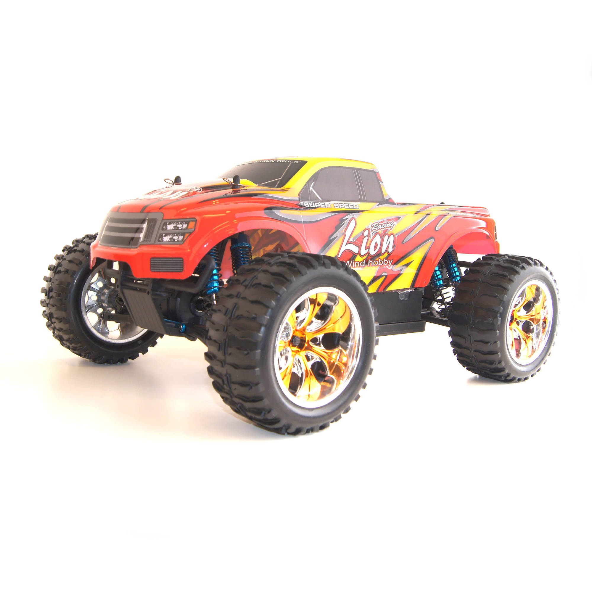 1/10th Scale RCC1001PRORED Electric Powered Off Road Monster Truck