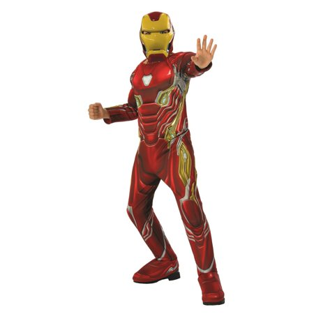 Marvel Avengers Infinity War Iron Man Deluxe Boys Halloween Costume](Wal Mart Halloween Costumes)