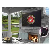 Holland Bar Stool TV30Marine United States Marine Corps Vinyl TV Cover, Black