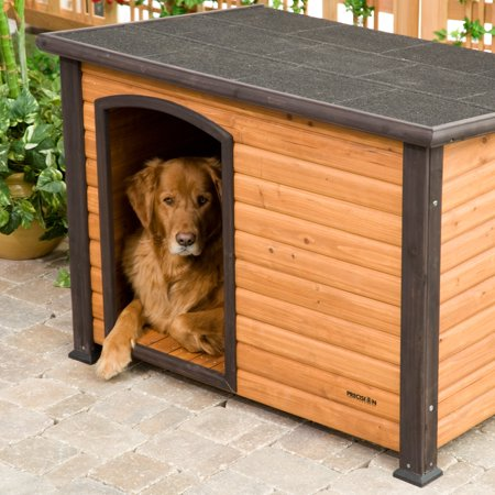 Precision Extreme Outback Log Cabin Dog House