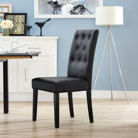 Modway Confer Leatherette Dining Side Chair, Multiple Colors