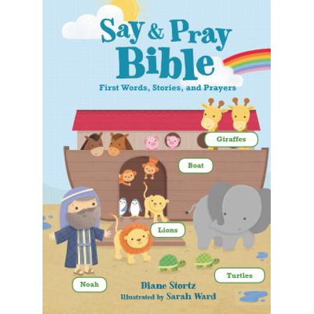 Say and Pray Bible First Words Stories a (Board Book) - Halloween Stories For First Grade