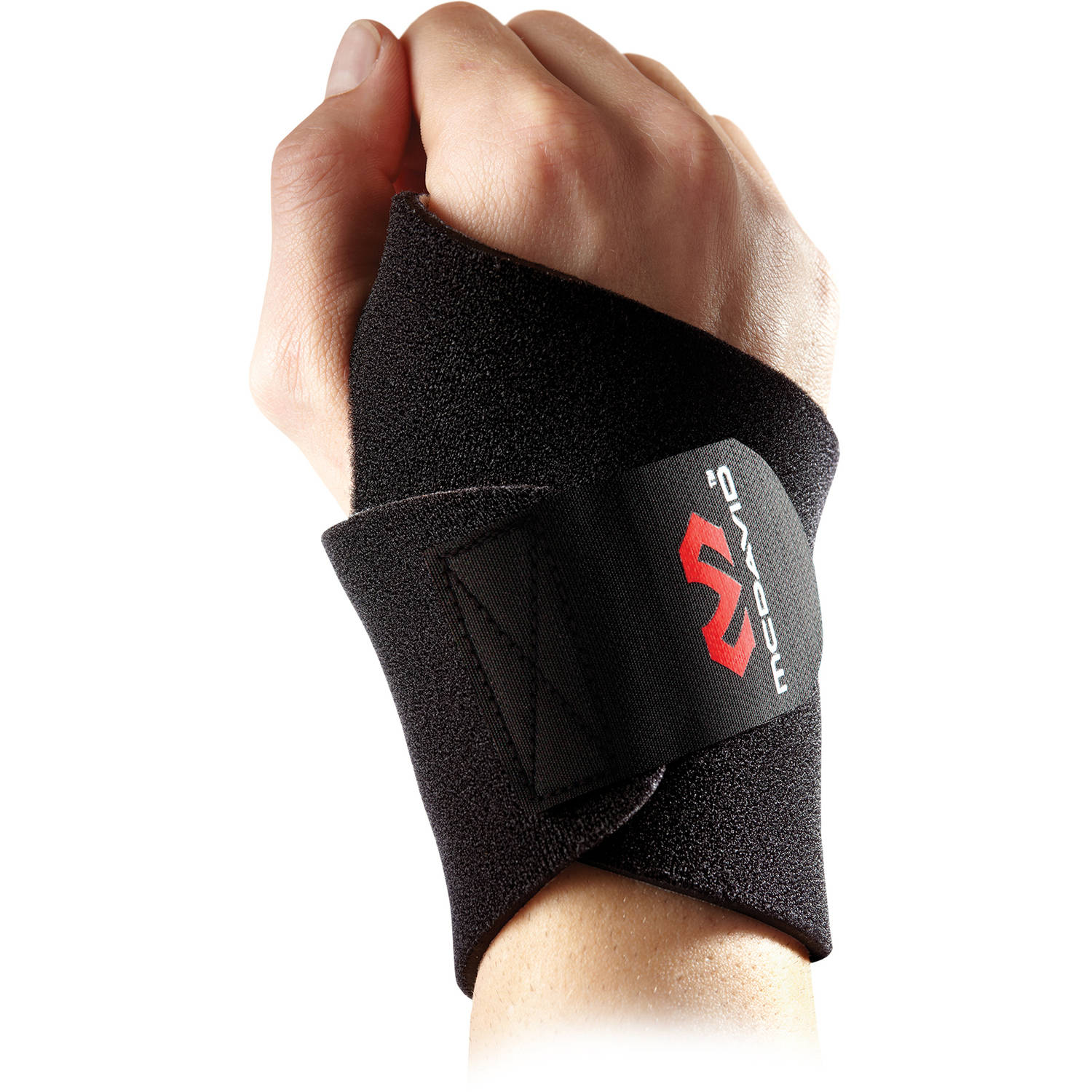 McDavid Level 1 Wrist Wrap/Adjustable, Black