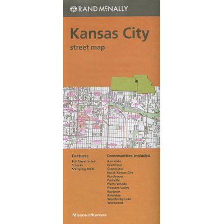 Folded map kansas city streets mo (paperback): 9780528008405 - City Of O Fallon Mo