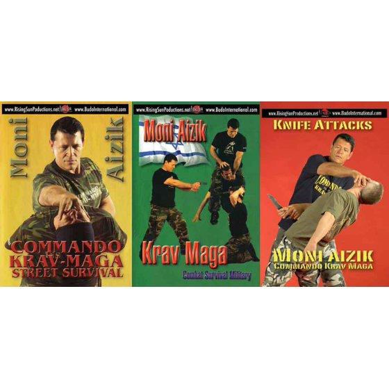 Krav Maga Moni Aizik 3 DVD Set