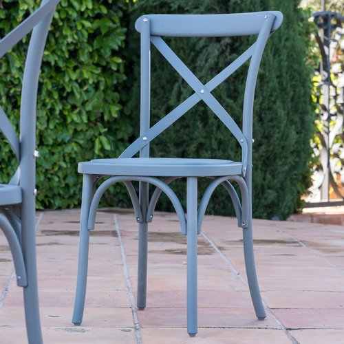 Winston Porter Blakemore Vintage Style Patio Dining Chair (Set of 2)