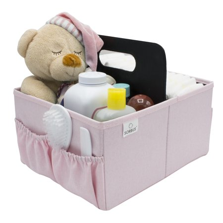Sorbus Baby Diaper Caddy Organizer Nursery Storage Bin For Diapers