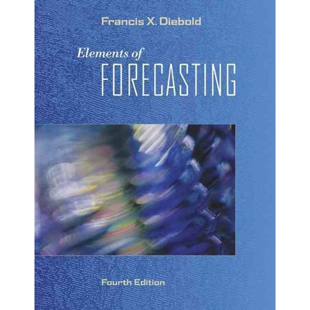 Elements Of Forecasting  Book Only