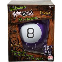 Halloween Magic 8 Ball Classic Fortune-Telling Novelty Toy, Purple