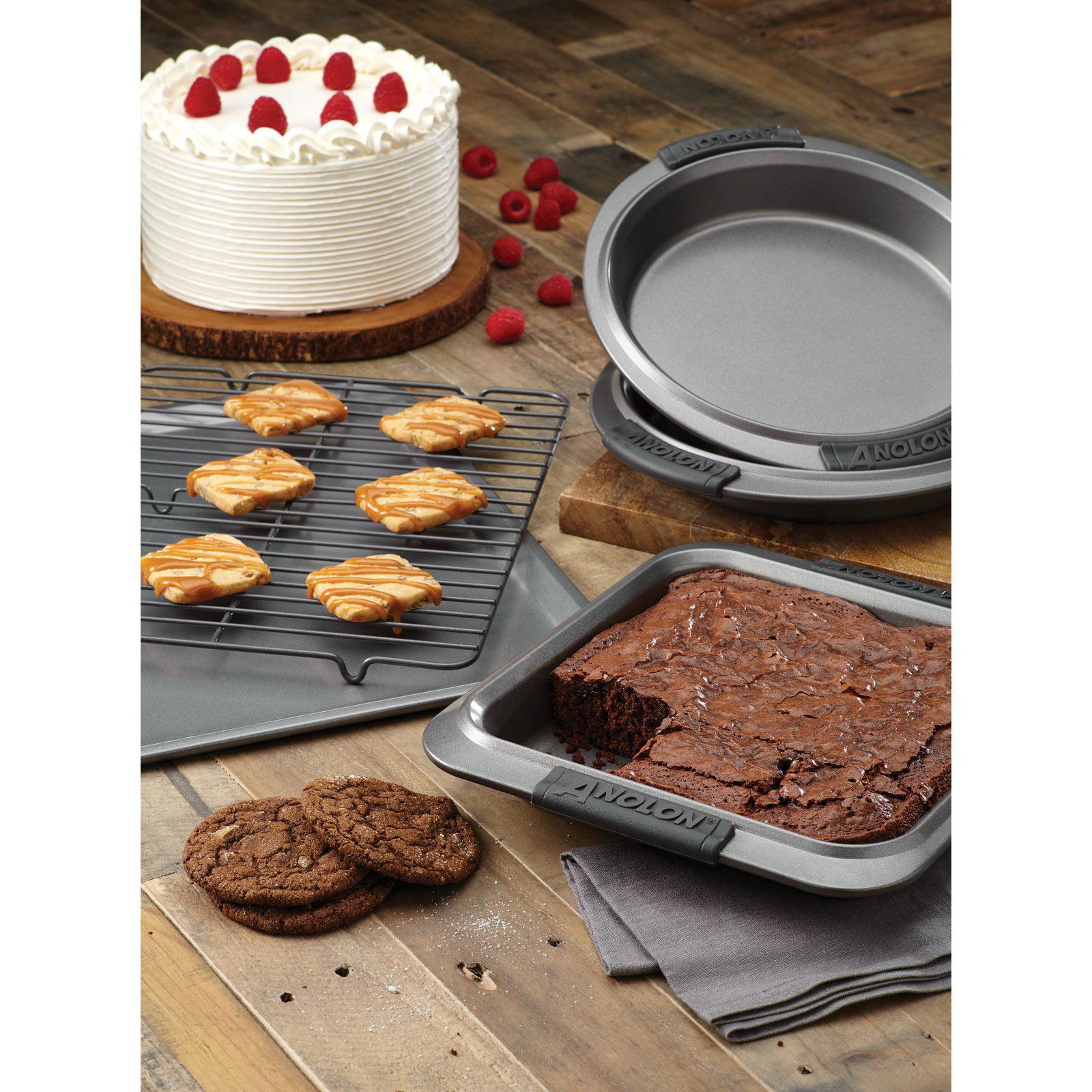 Anolon Advanced Nonstick Hard-Anodized 5 Piece Bakeware Set by Anolon