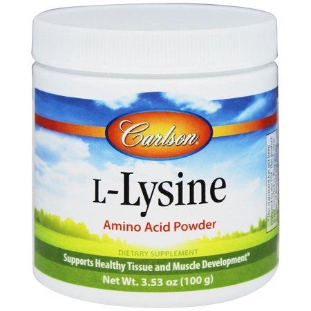 Carlson Labs - L-Lysine Amino Acid Powder - 100 Grams