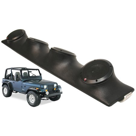 Jeep Wrangler Rockford R152 Car Audio Powered Speakers Loaded Sound Bar (Best Speakers For Jeep Wrangler Sound Bar)