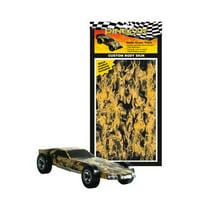 Pinecar Body Skin Custom Transfer, Smoke Screen, PIN3976